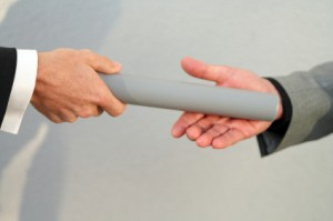 sales and marketing alignment - passing the baton