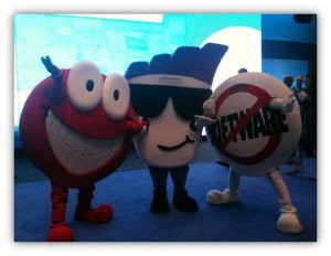 Chatty Sassy and Markie at Dreamforce
