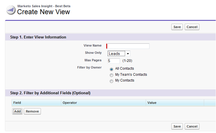 Sales Lead Management Improved with new Marketo Sales Insight 2.0