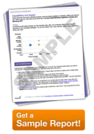 email marketing benchmark sample report
