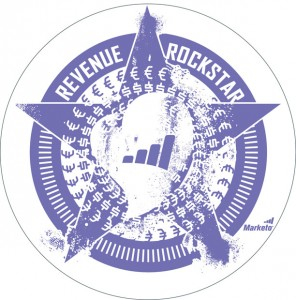 Marketo Revenue Rockstar Decal