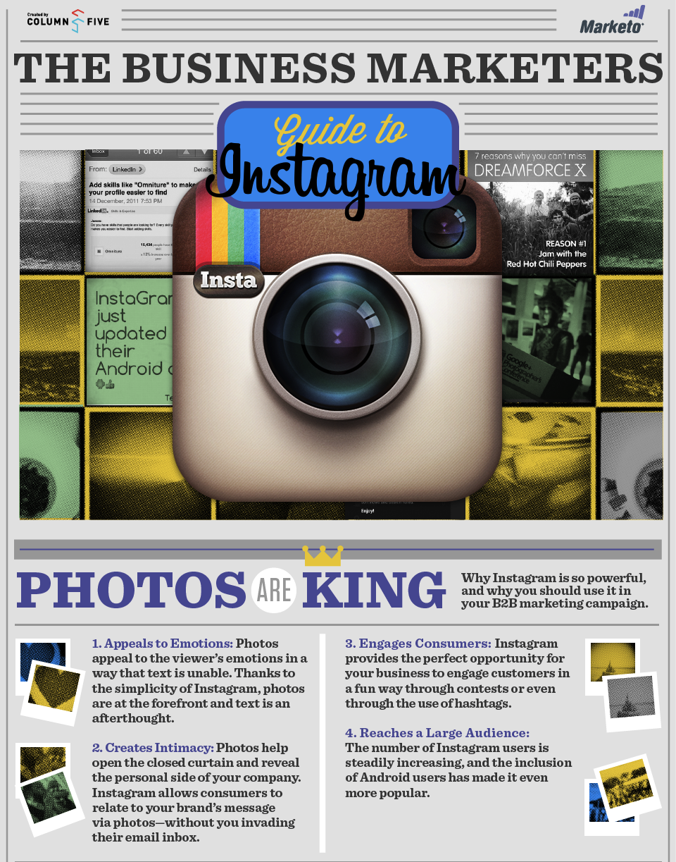 The Business Marketers Guide to Instagram [Infographic]