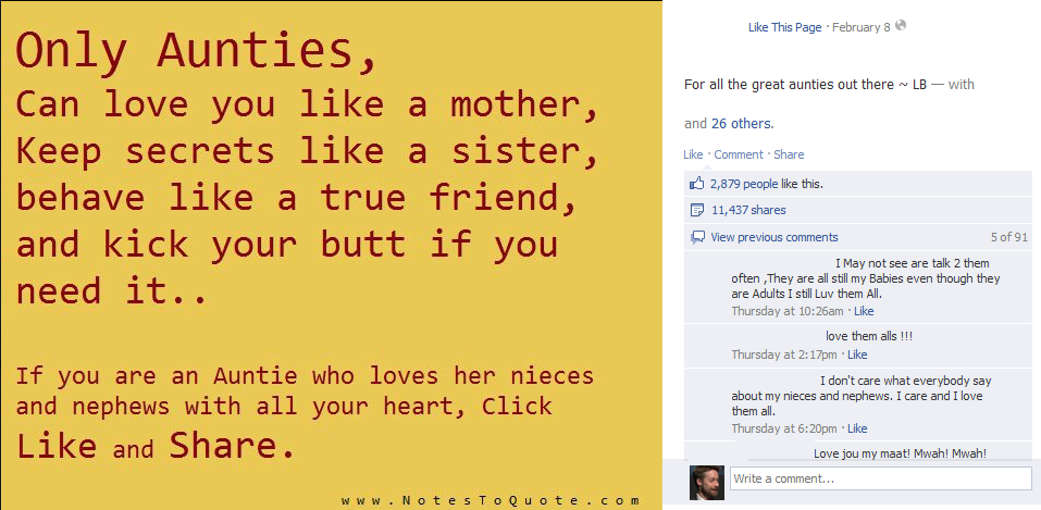 Contagious Content: Facebook Posts That Get Shared Like Crazy