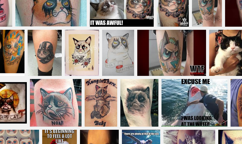 grumpycat tattoos