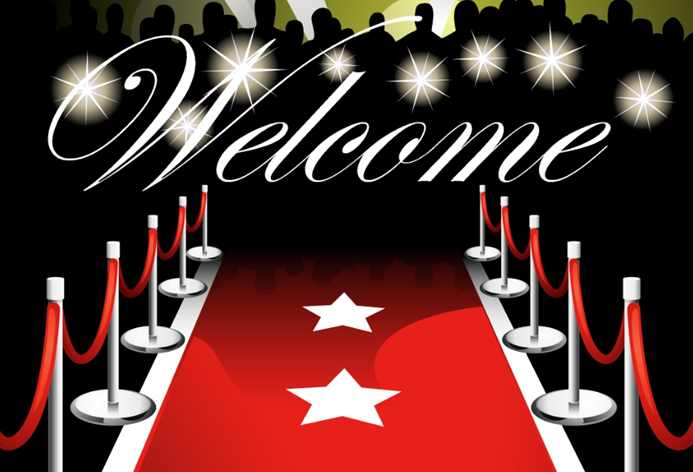 welcome red carpet