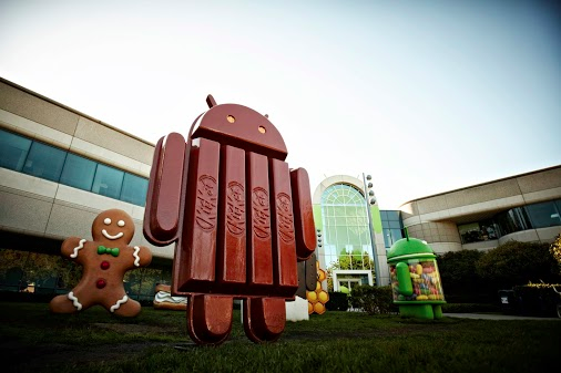 android kitkat outdoors