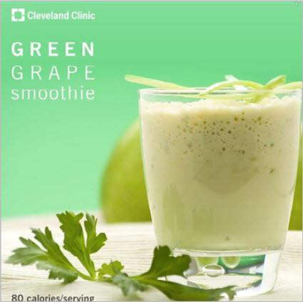 green graphe smoothie Cleveland Clinic
