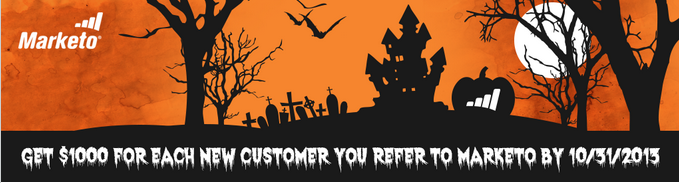 spooky marketo offer copy