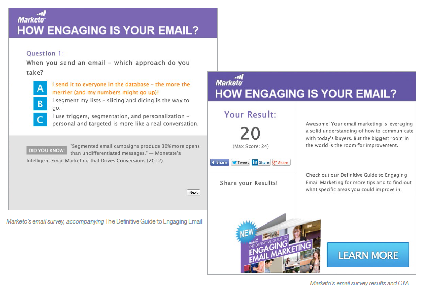 engaging email survey