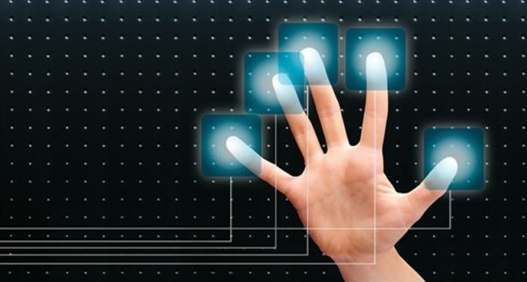 multi touch hand