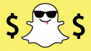 snapchat ghost with sunglasses