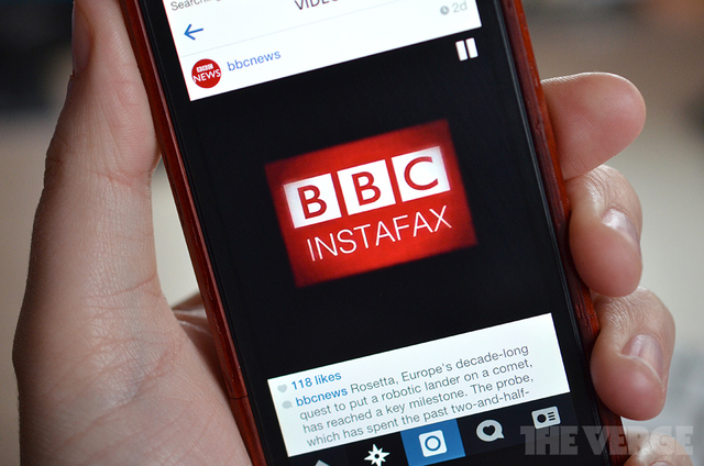 bbc news instagram 9 New Examples of Youtility and Incredibly Useful Marketing