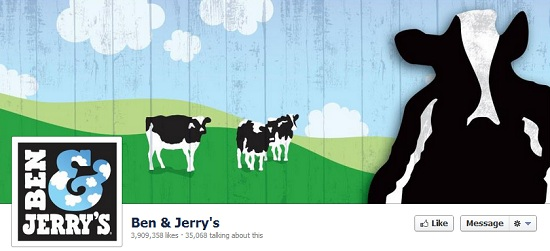 facebook cover image ben and jerrys
