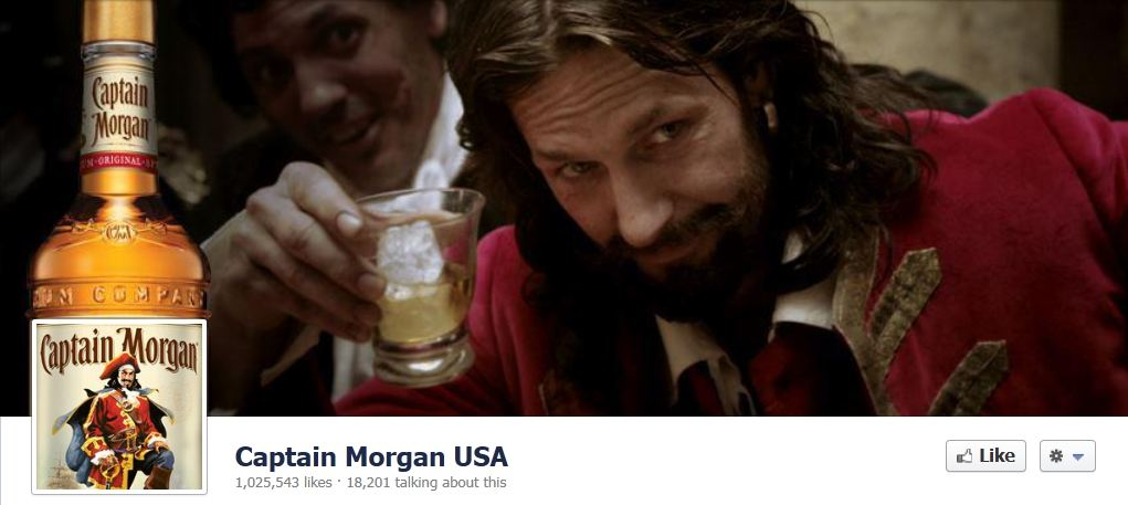 facebook cover image captain morgran
