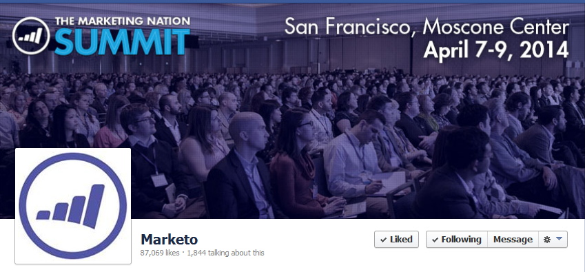 facebook cover image marketo