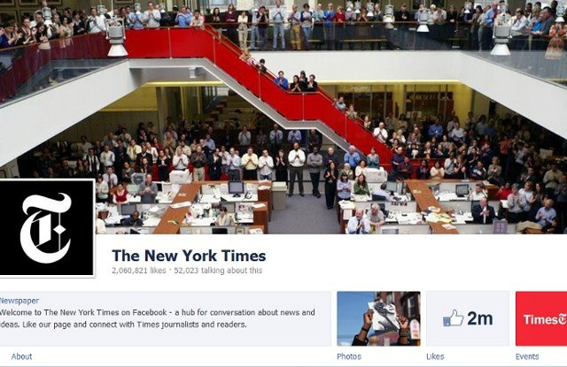 facebook cover image new york times