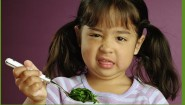 kid doesn't like spinach