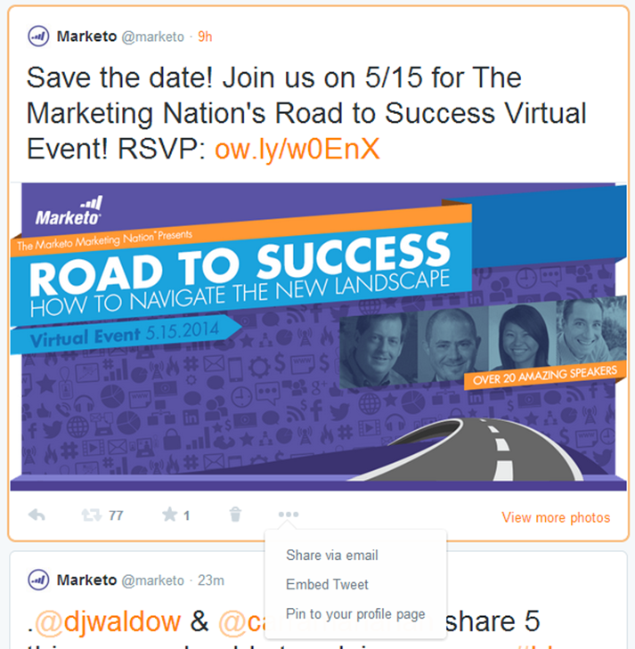 Marketo save the date