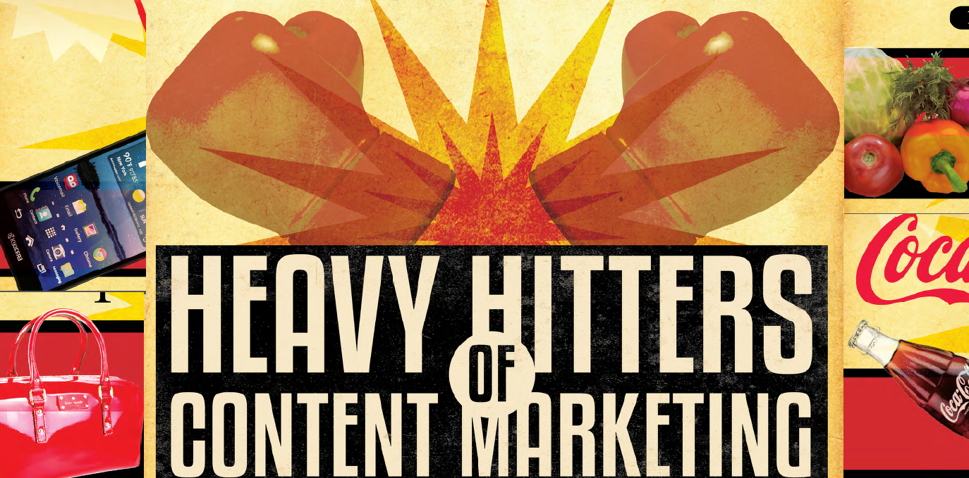 The Heavy Hitters of Consumer Content Marketing