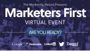 marketers first virtual event