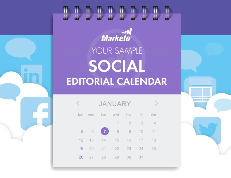 sample social editorial calendar thumbnail