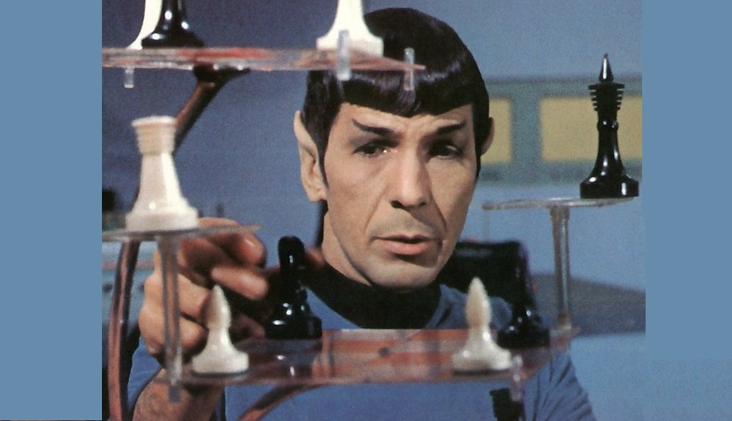 spock playing chess