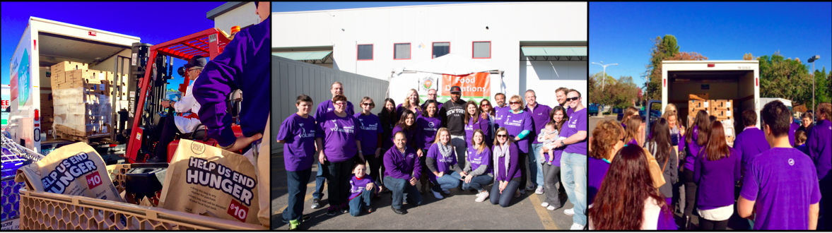 Marketo Gives Back to Second Harvest Food Bank