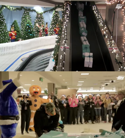 WestJet Surprise and Delight Holiday Campaign