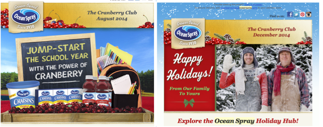 Club Cranberry_Ocean Spray Engagement Marketing