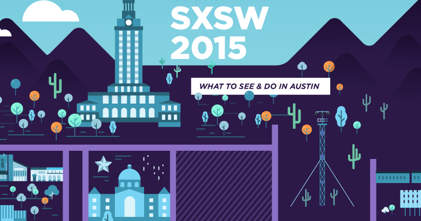SXSW Event Map by Marketo