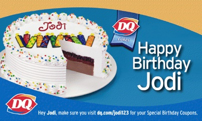 Happy birthday Jodi