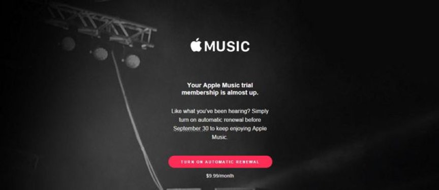 Apple Music Renewal