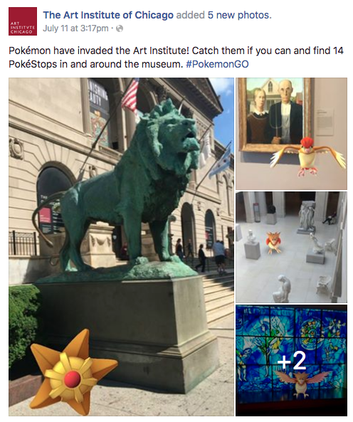 Art Institute of Chicago Pokemon