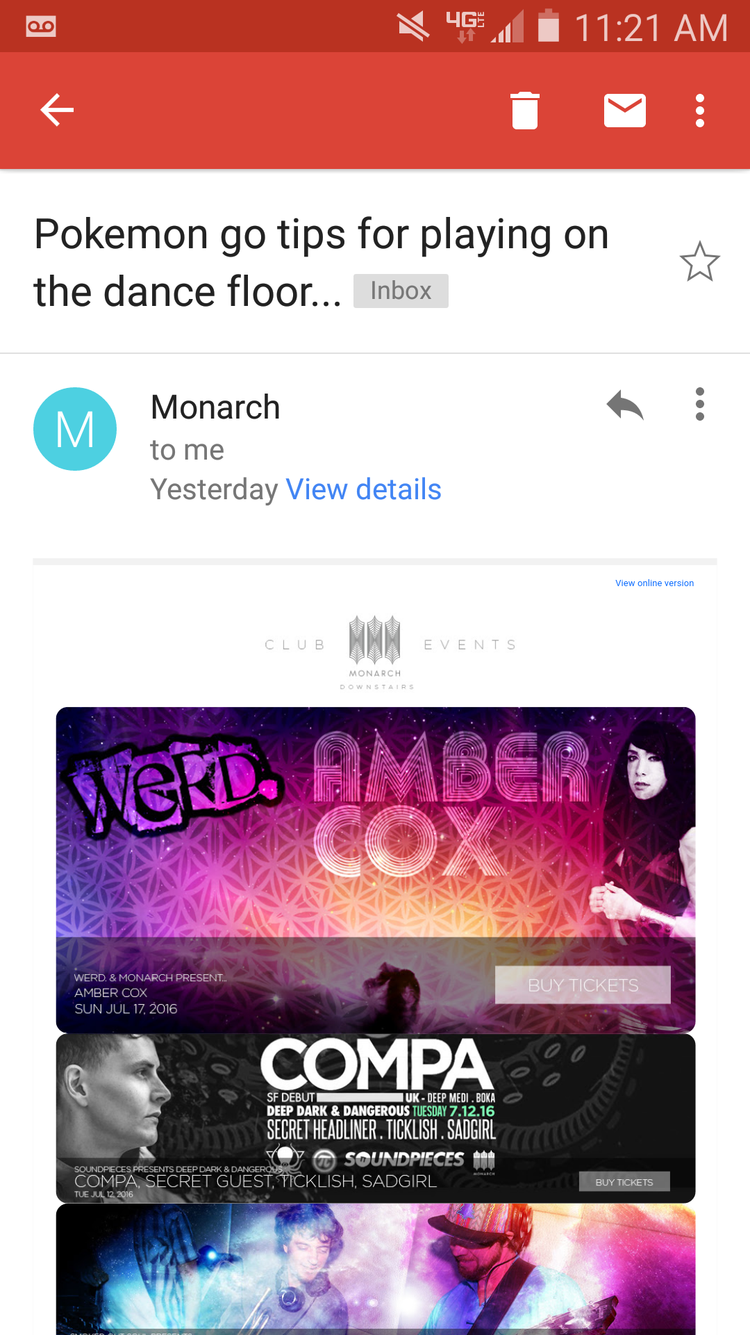 Monarch Email