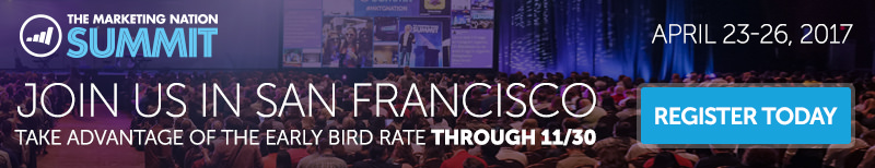 Marketo Summit 2017 - Nov Banner