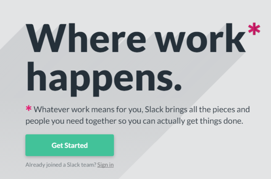 Slack Unique Selling Proposition