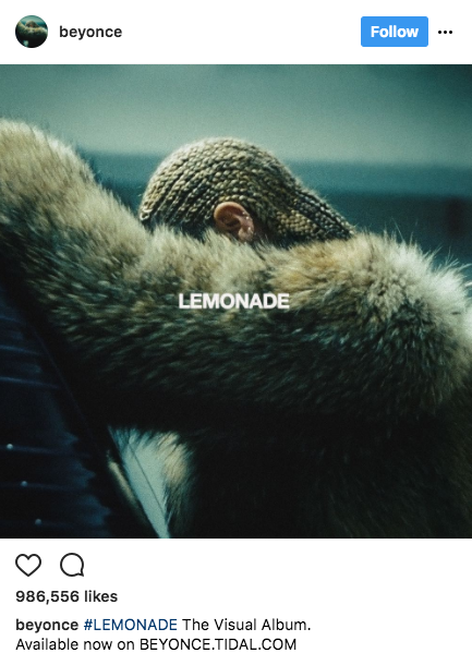 Beyonce the Marketer