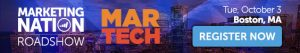 MarTech Conference Banner