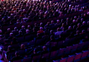 Crowd at Convention