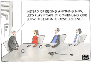 Risk Tom Fishburne Marketoonist