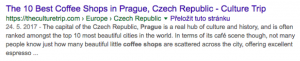 10 Best Coffee Shops Prague Example