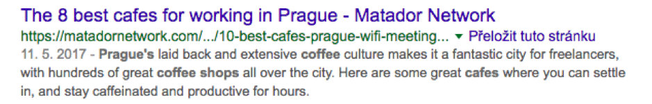 8 Best cafes for working in Prague