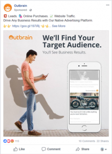 Outbrain Example 1