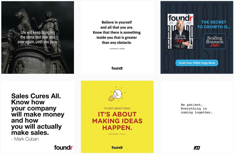 Foundr Magazine example