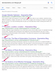 Kissmetrics.com Filetype Example