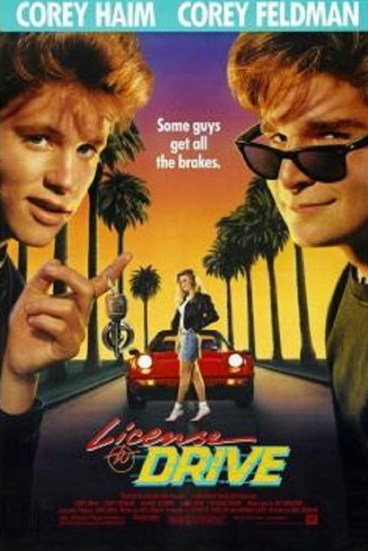 License to Drive 1980s example