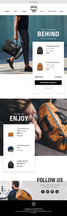 MCM Email Personalization Example