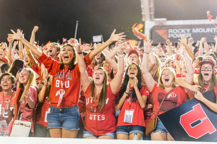 University of Utah Football Student Section
