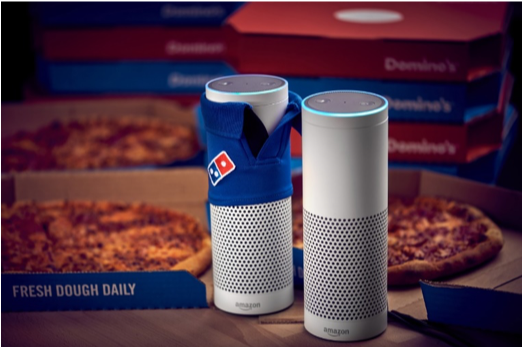Dominos Voice Search Example