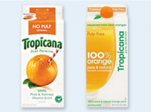 ropicana Brand Refresh Example